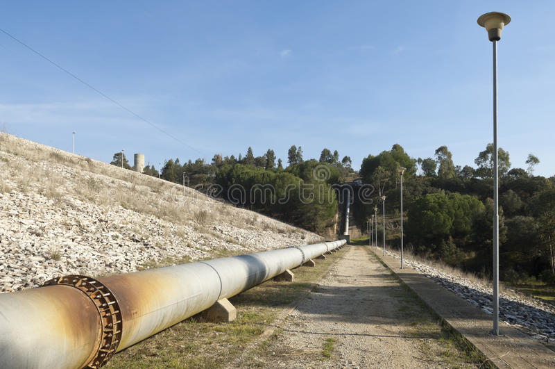 Wasserrohrleitung lizenzfreie stockbilder
