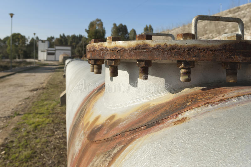 Wasserrohrleitung stockfoto