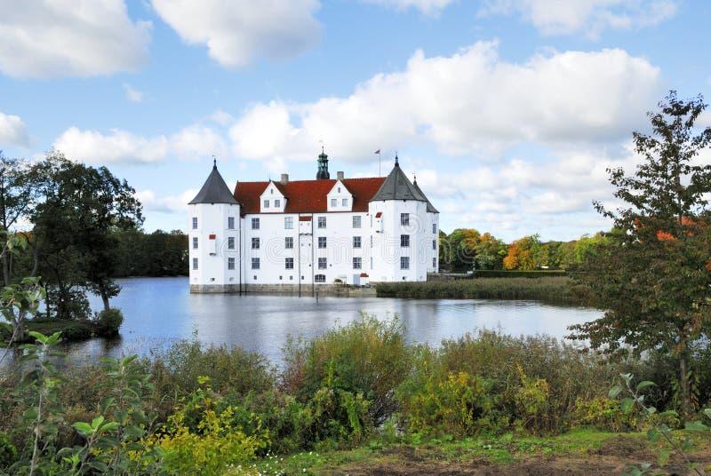 Wasserschloss Gluksburg fotos de stock