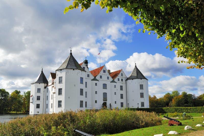 Wasserschloss Gluksburg fotografia de stock