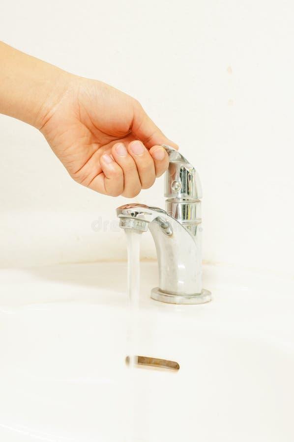 Wassersparen stockfoto