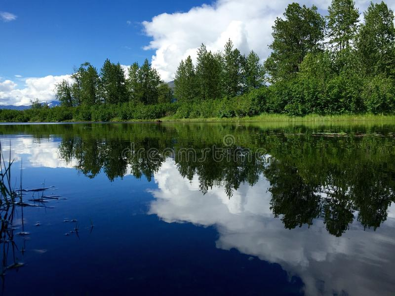 Wasserspiegel stockfoto
