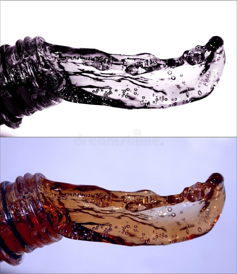 Wasserspritzen lizenzfreie stockfotos