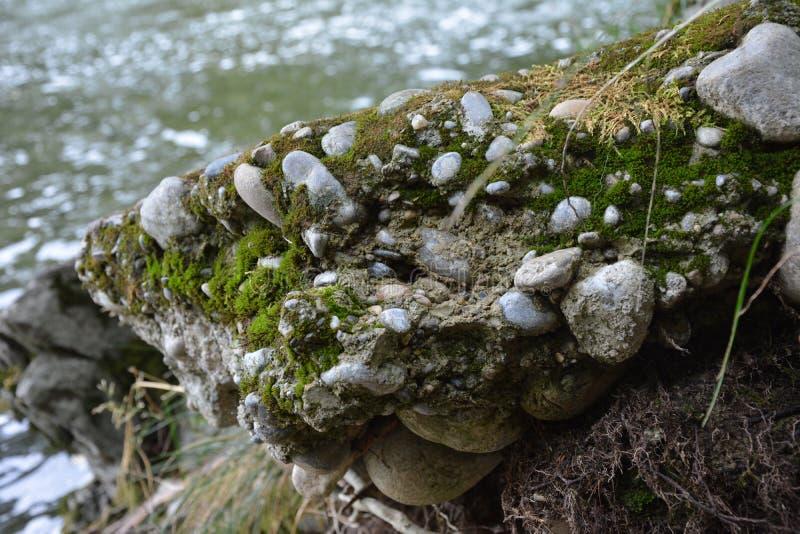 Wassersteine stockbild