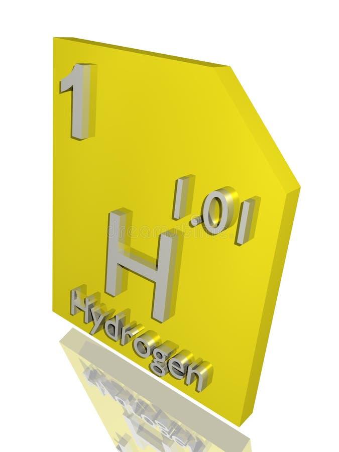 Wasserstoff stock abbildung