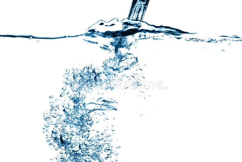 Wasserstromfallen lizenzfreie stockfotografie