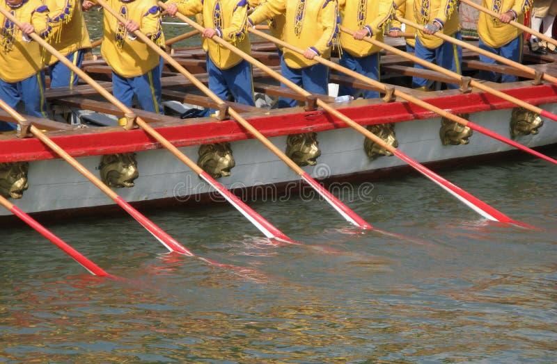 Wasserteamwork lizenzfreie stockfotografie