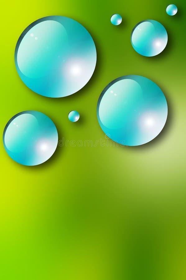 Download Wassertropfen stock abbildung. Illustration von tröpfchen - 12202671