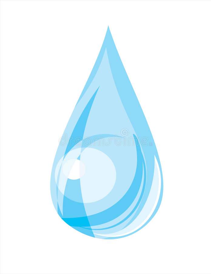 Wassertropfen (Vektor) vektor abbildung