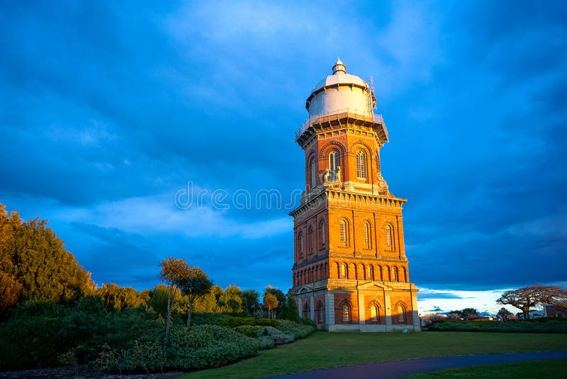 Wasserturm in Invercargill, Süden Region, Neuseeland lizenzfreies stockbild