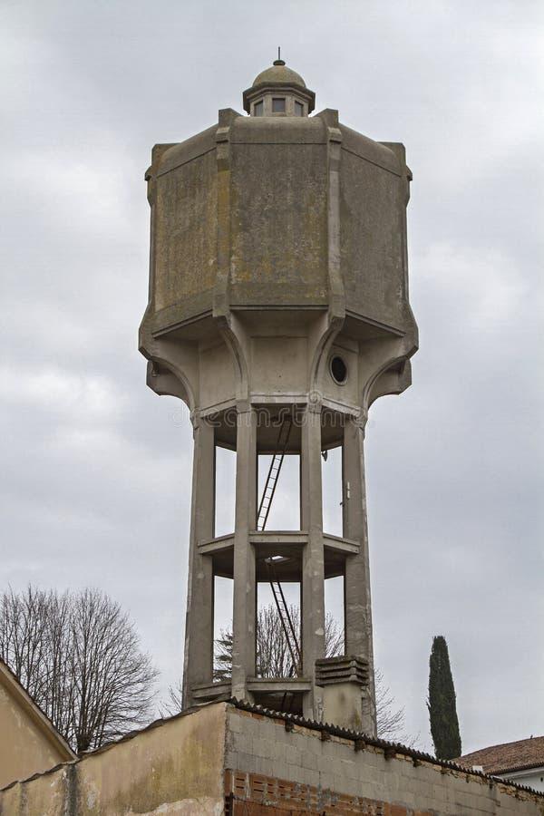 Wasserturm in Palmanova stockbilder