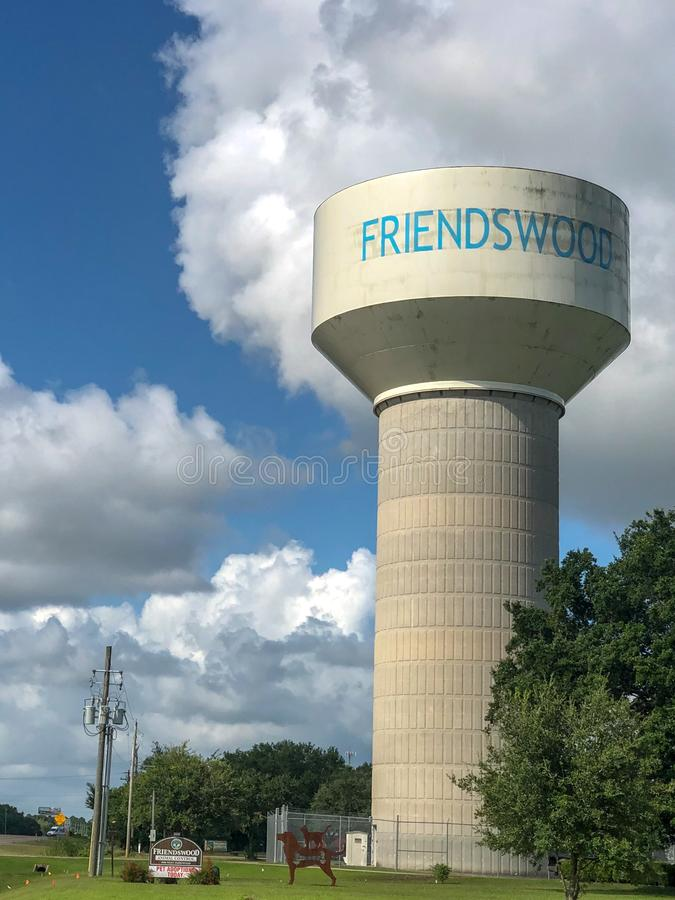 Wasserturm ( vertical) lizenzfreies stockfoto