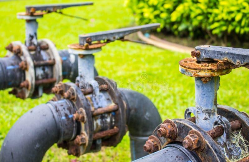 Wasserventile stockfotografie