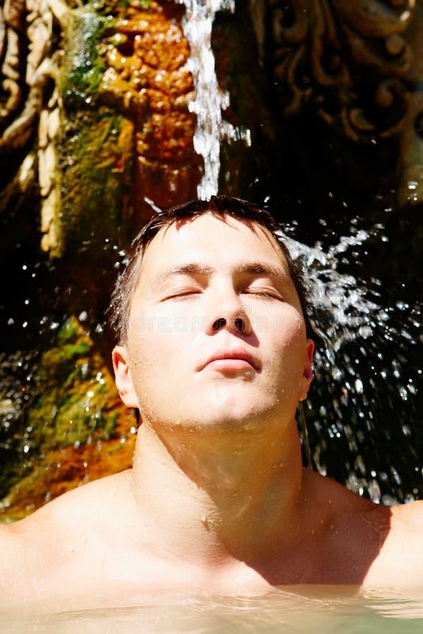 Wasservergnügen stockbild