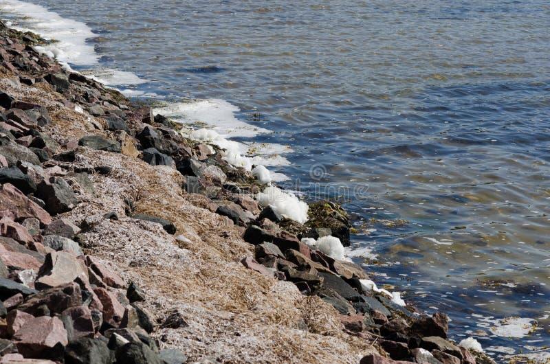 Wasserverschmutzung stockbild