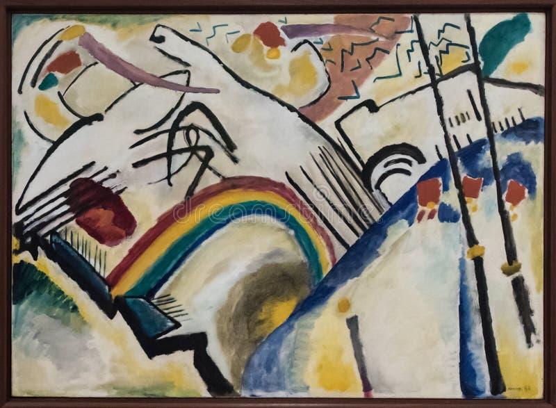 Wassily Kandinsky 1899 - 1944 royaltyfria foton