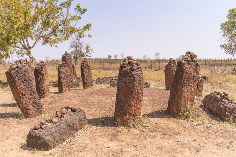 Wassu στη Γκάμπια στοκ φωτογραφίες με δικαίωμα ελεύθερης χρήσης