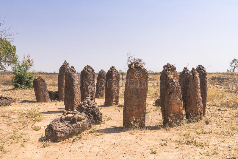 Wassu στη Γκάμπια στοκ εικόνες