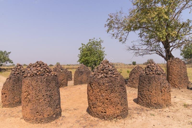 Wassu in Gambia royalty-vrije stock foto