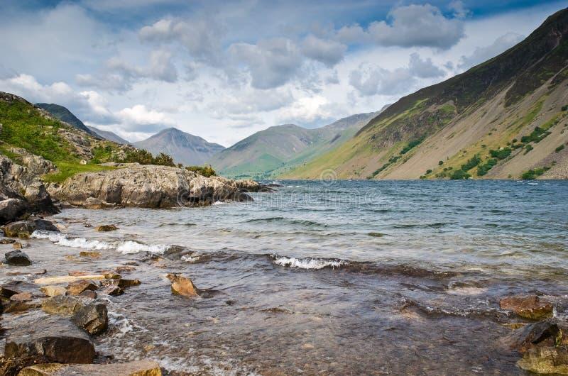 Wast-Wasser, See-Bezirk, Großbritannien stockbilder