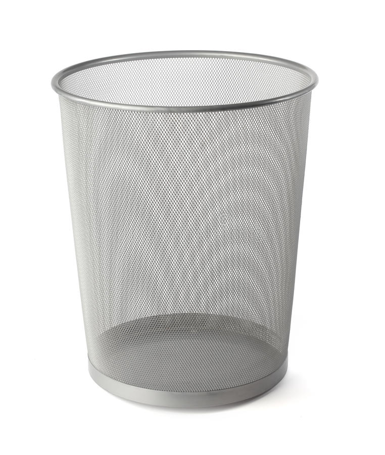 Download Waste basket stock image. Image of office, empty, container - 11392701