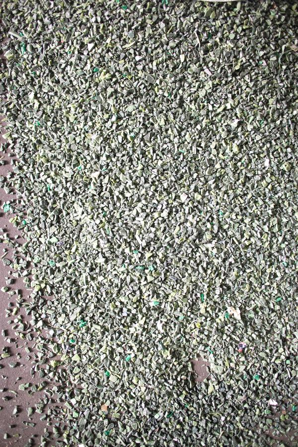 Waste fuel briquettes. Recycling, fuel briquettes, waste, material garbage royalty free stock image