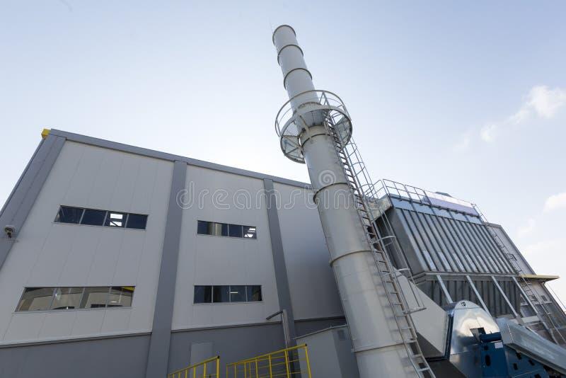Waste management facility stock photo
