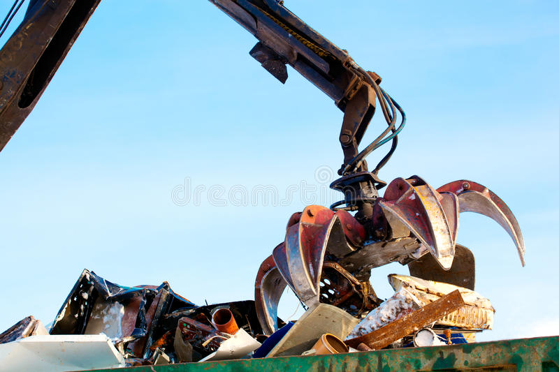 Waste management recycling royalty free stock photo