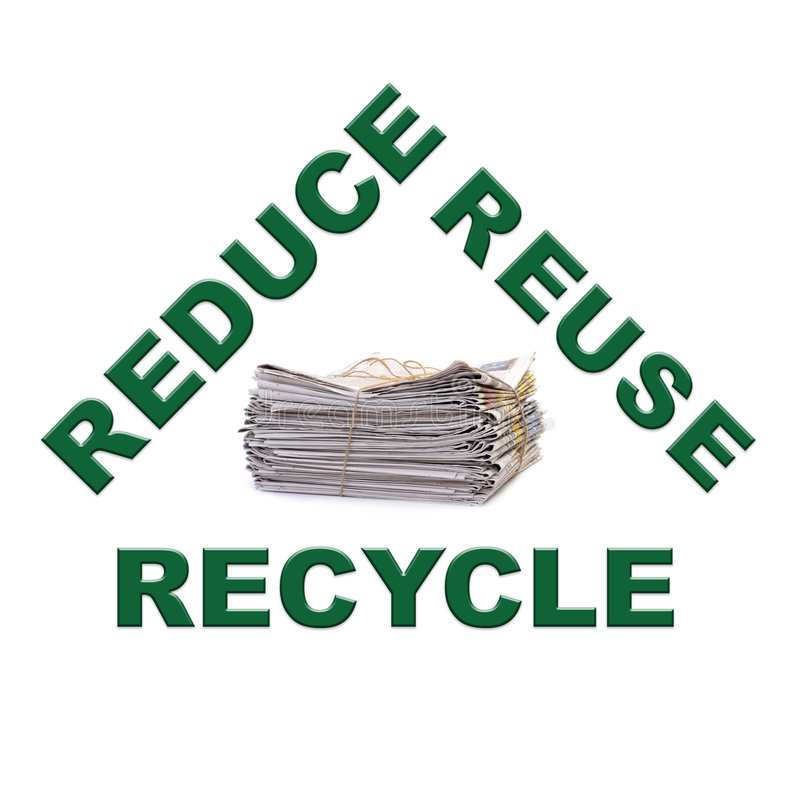 Download Waste paper recycling stock photo. Image of recycle, paper - 3883684