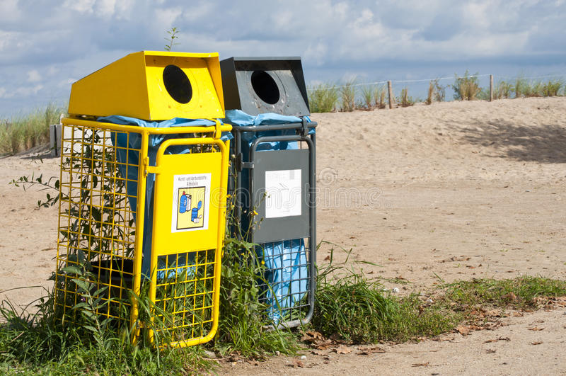 Download Waste separation stock photo. Image of coast, dune, metal - 17165486