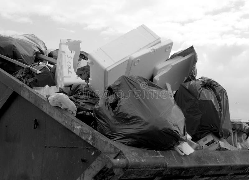 Waste Skip Royalty Free Stock Photo
