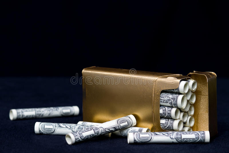 Download Wasteful Habit - Concept Smoking Royalty Free Stock Photography - Image: 19133197