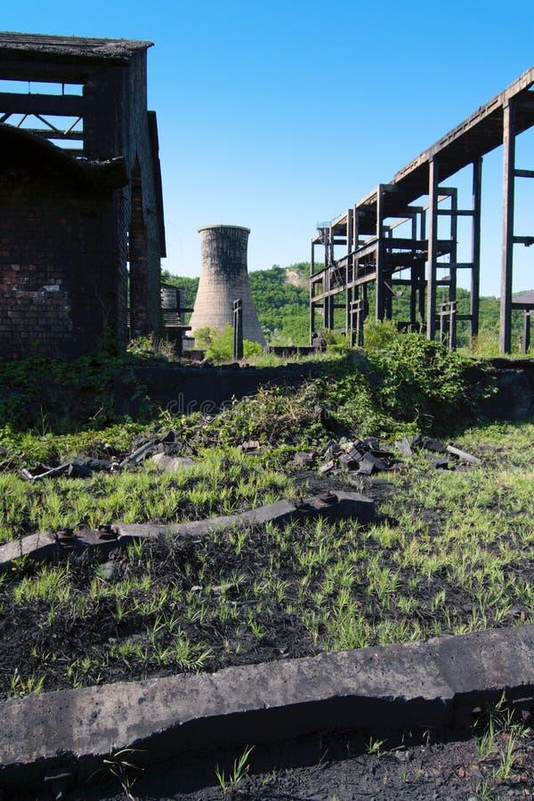 Wasteland royalty free stock image
