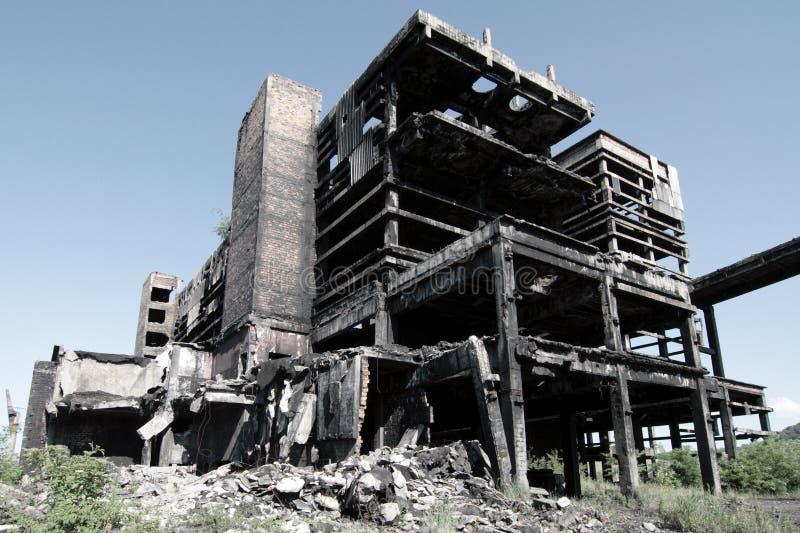 Wasteland royalty free stock photography