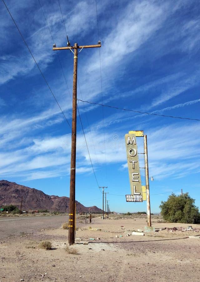 wasteland Itinerario storico 66 immagini stock libere da diritti