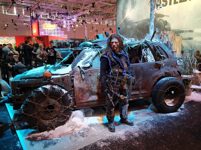 Wasteland 3 official cosplay royalty free stock image