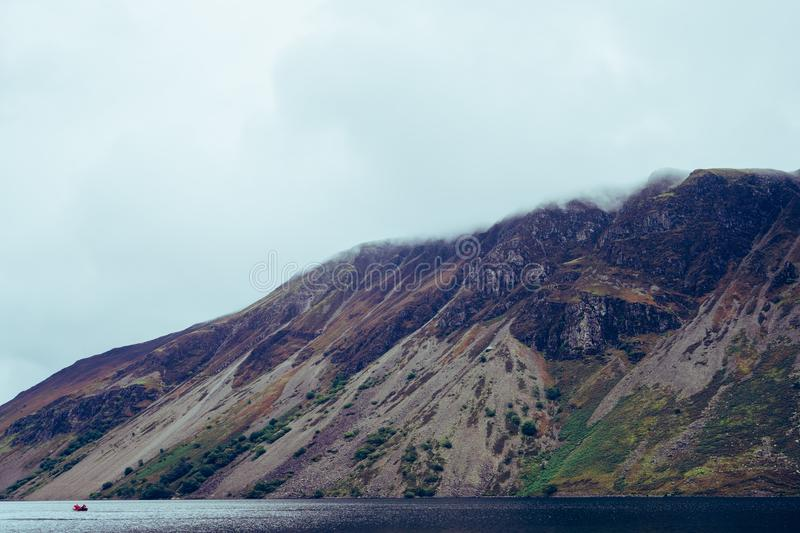 Wastwater Lake in the Lake District UK stock images