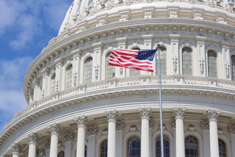 Waszyngtoński Capitol zdjęcia royalty free