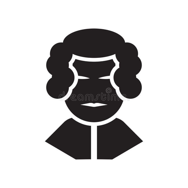 Waszyngtoński ikona wektoru znak i symbol odizolowywający na białym backgro royalty ilustracja