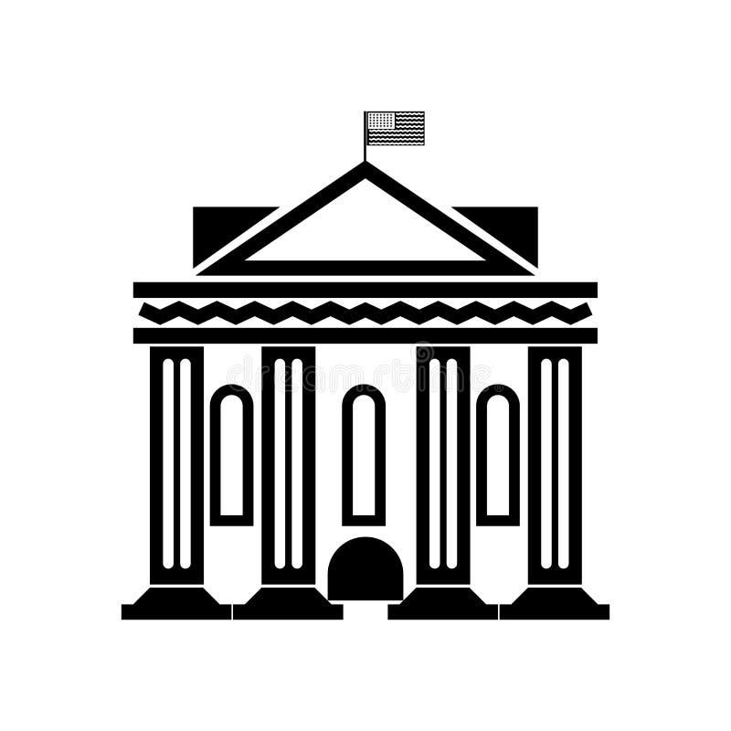 Waszyngtoński ikona wektoru znak i symbol odizolowywający na białym tle, Waszyngtoński logo pojęcie royalty ilustracja