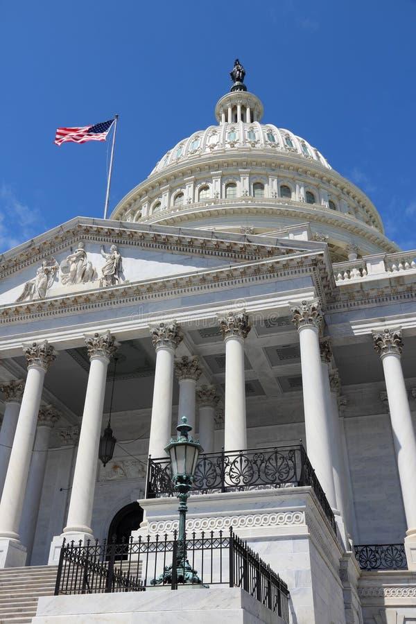 Waszyngtoński Krajowy Capitol zdjęcie royalty free