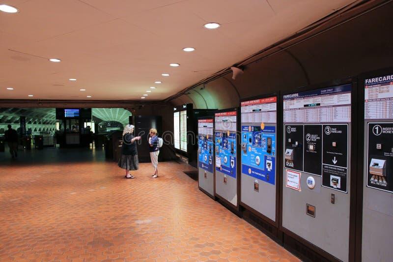 Waszyngtoński metro zdjęcie royalty free