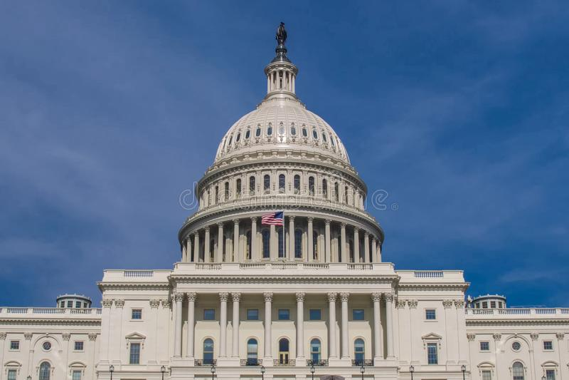 Waszyngton biały dom Symbol Ameryka obrazy stock
