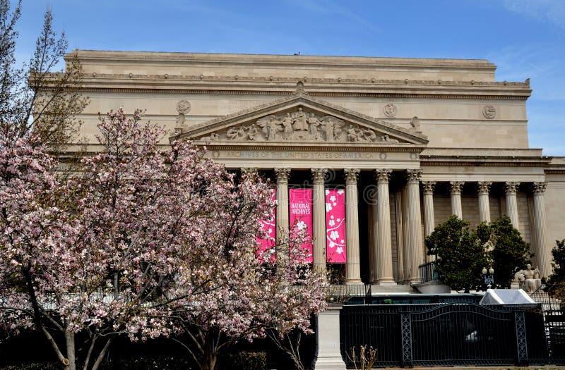 Waszyngton, DC: Archiwa Stany Zjednoczone fotografia stock