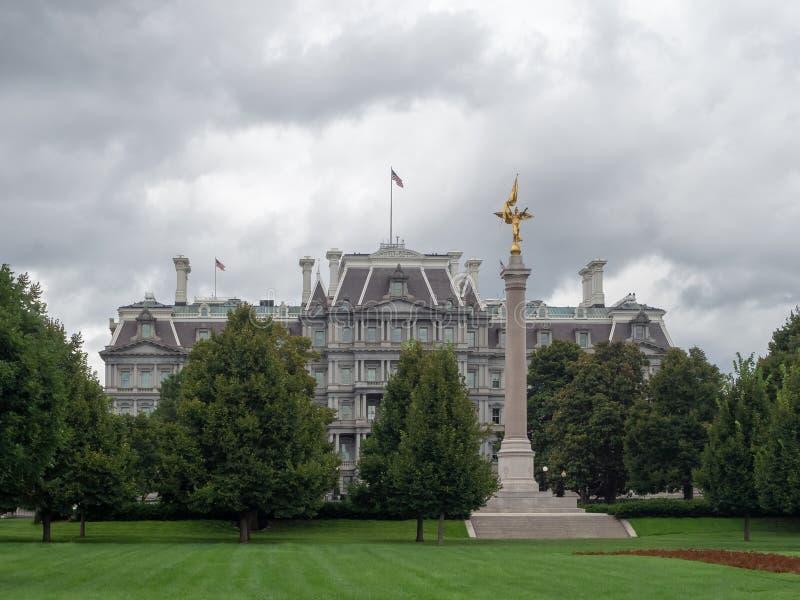 Waszyngton DC, dystrykt Columbia [Stany Zjednoczone USA, stary Eisenhower Executive Office Building, General obraz royalty free