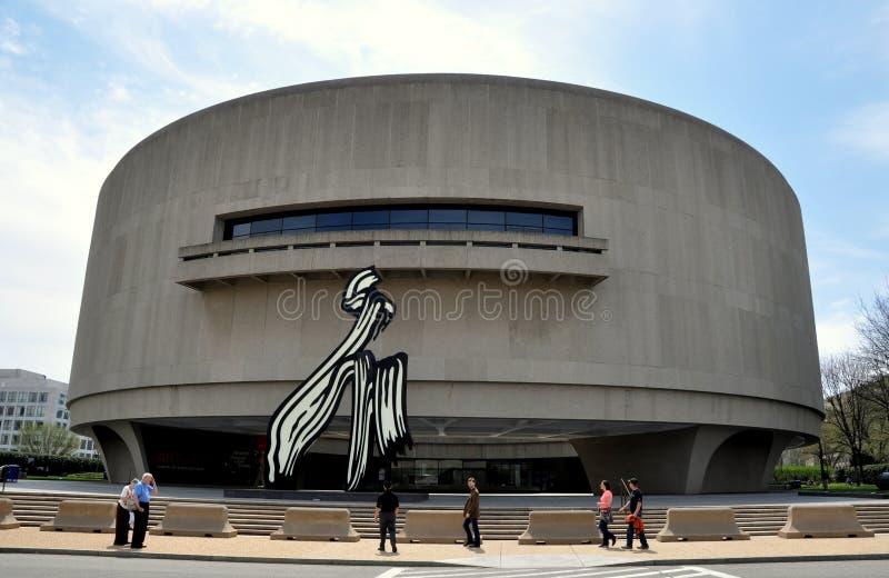Waszyngton, DC:  Hirschhorn muzeum sztuki obrazy stock
