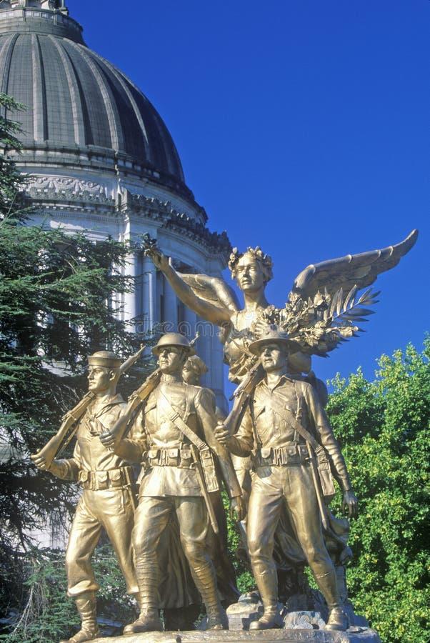 Waszyngton stan Capitol fotografia stock