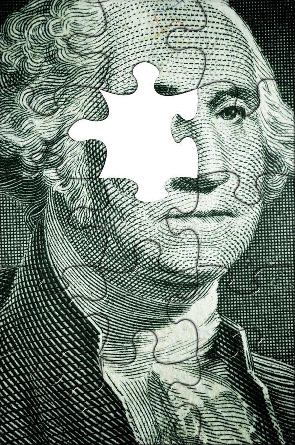 Waszyngton układanki royalty ilustracja