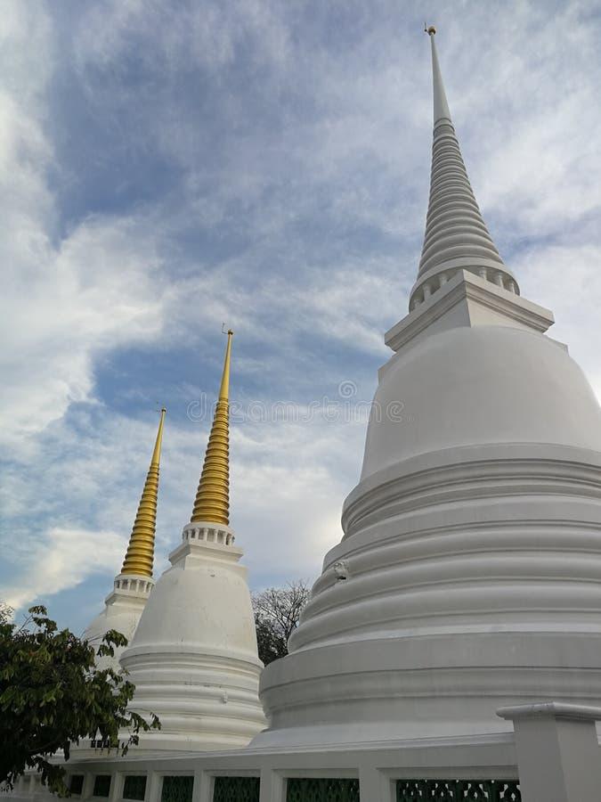 Wat†‹Khruea ωχρό Worawihan στοκ εικόνα
