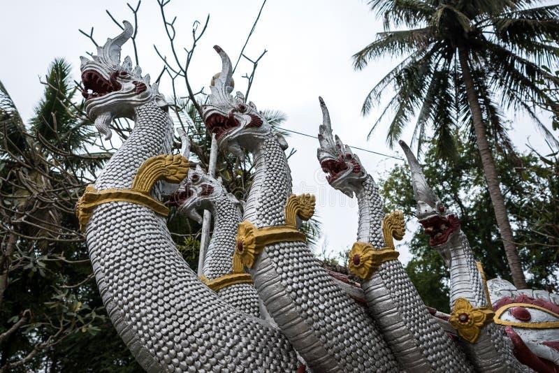 Wat华锡昂队寺庙在琅勃拉邦,老挝 库存图片